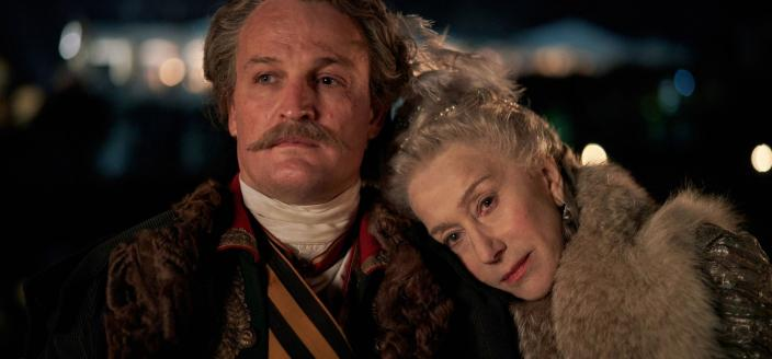 "Helen Mirren and Jason Clarke in ""Catherine the Great"" (Photo: (photo: Robert Vigalsky/HBO))"