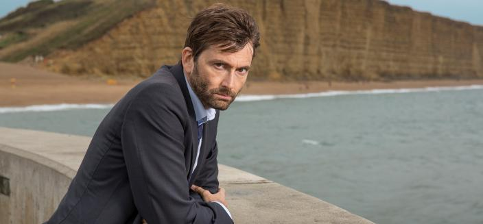 "David Tennant as DI Alec Hardy in ""Broadchurch"" (Photo: BBC America)"