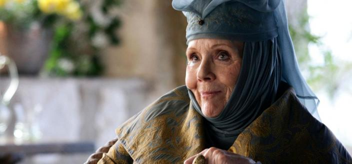 "Dame Diana Rigg as Olenna Tyrell on ""Game of Thrones"" (Photo: HBO)"