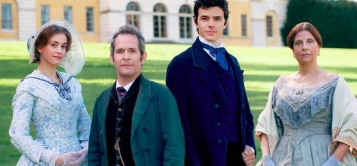 "Everyone in ""Doctor Thorne"" DOES look quite posh... (Photo: ITV)"