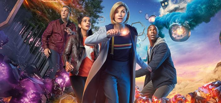 The gang's all here in the new 'Doctor Who' key art (Photo: BBC America)