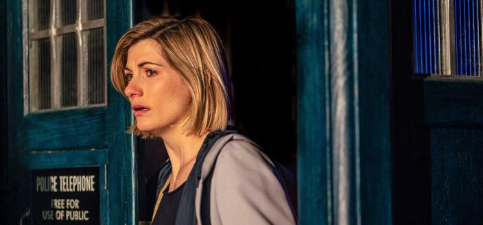 "Jodie Whittaker in ""Doctor Who"" (Photo Credit: James Pardon/BBC America)"