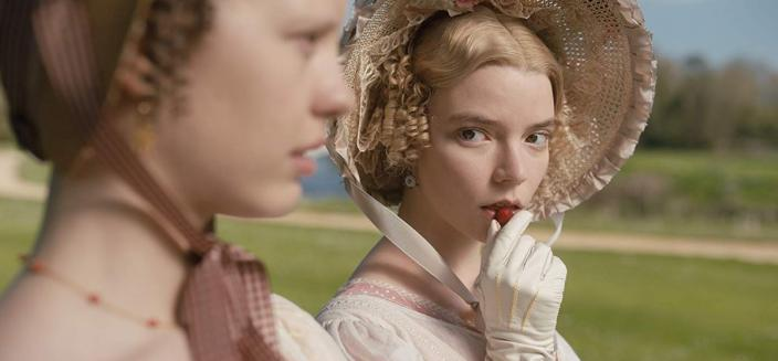 "Anna Taylor-Joy in the trailer for ""Emma"" (Photo: Focus Features)"