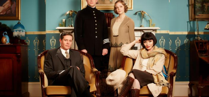 "The cast of ""Miss Fisher and the Crypt of Tears"" (Photo: ABC TV)"