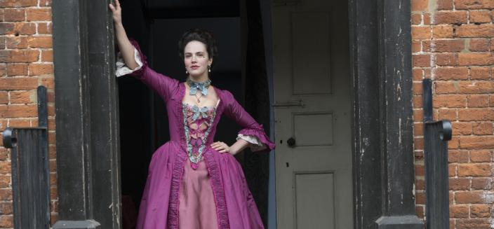 Jessica Brown Findlay as Charlotte Wells (Photo: Hulu)