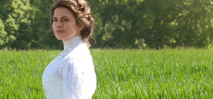 Hayley Atwell as Margaret. Courtesy of 2017 Starz Entertainment, LLC.