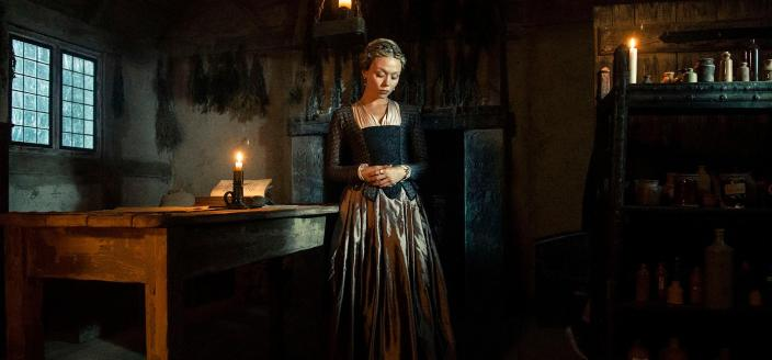 "Jocelyn in ""Jamestown"" (Photo: Courtesy of Carnival Film & Television Limited 2019)"