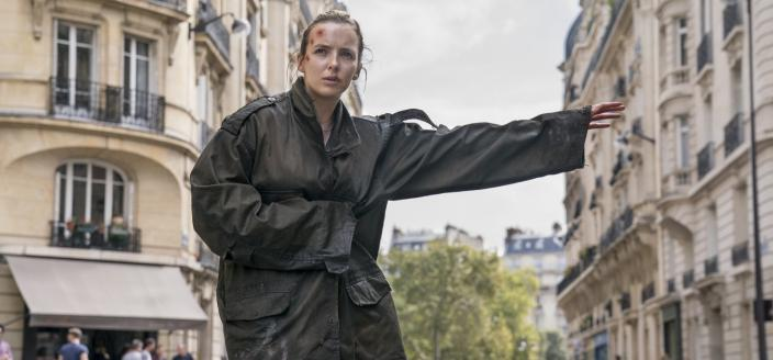 "Jodie Comer in ""Killing Eve"" Season 2 (Photo: Aimee Spinks/BBC America)"