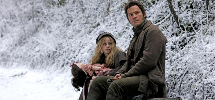 Valjean and Cosette (Photo: Courtesy of Laurence Cendrowicz / Lookout Point)