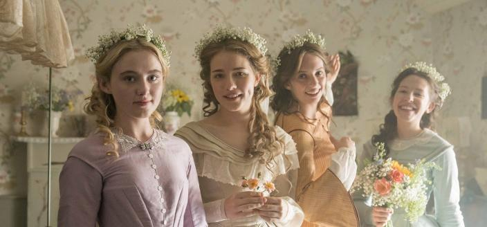 """The ladies of """"Little Women"""" (Photo: Courtesy of MASTERPIECE on PBS, BBC and Playground)"""