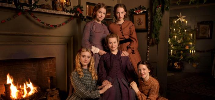 """The cast of """"Little Women"""" (Photo: Courtesy of MASTERPIECE on PBS, BBC and Playground)"""