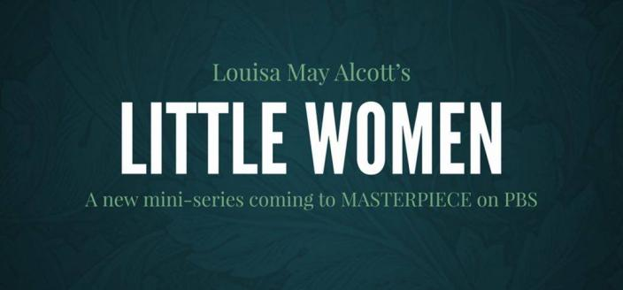 Little Women annoucement text (Photo: PBS)