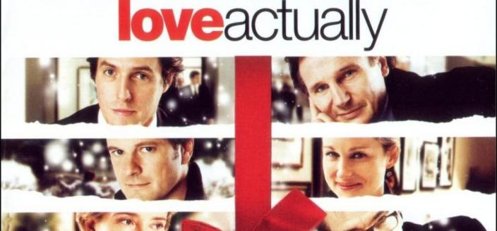 The love actually poster, or most of it anyway. (Photo: Universal Pictures)