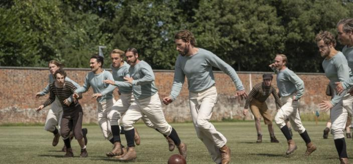 "The gents of ""The English Game"" (Photo: Netflix)"