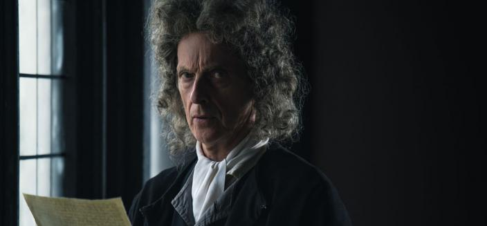 This is obviously just the next state in Peter Capaldi's epic hair journey. (Photo: BBC)