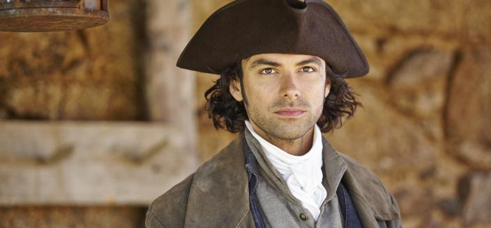 Aidan Turner, smoldering. (Photo:  Courtesy of © ITV plc (ITV Global Entertainment Ltd)