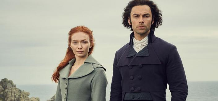"Aidan Turner and Eleanor Tomlinson in ""Poldark"" Season 4 (Photo: BBC/Mammoth Screen)"