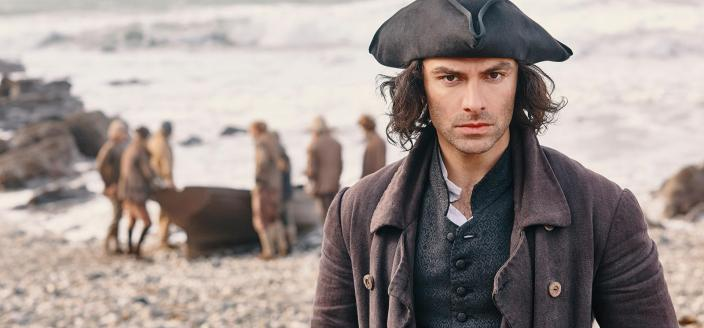 "Aidan Turner in the final season of ""Poldark"" (Photo:  Courtesy of Mammoth Screen for BBC and MASTERPIECE)"
