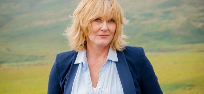 """Sarah Lancashire in a """"Last Tango in Halifax"""" Promotional Shot  (Photo: Courtesy of BBC/Red Productions/Gary Moyes)"""