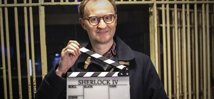 The game is on (again), says Mark Gatiss. (Photo: ourtesy of (c) Hartswood Films and BBC Wales for MASTERPIECE)
