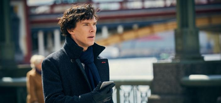 "Benedict Cumberbatch in ""Sherlock"" Season 4. (Photo: Courtesy of Hartswood Films and MASTERPIECE)"