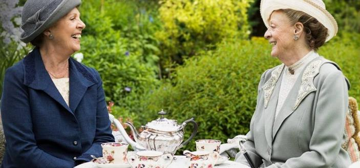 Tea in the Garden, Downton Abbey
