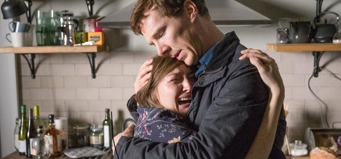 "Benedict Cumberbatch and Kelly Macdonald in ""The Child in Time"" (Photo: Courtesy of Pinewood Television, SunnyMarch TV and MASTERPIECE for BBC One and MASTERPIECE)"