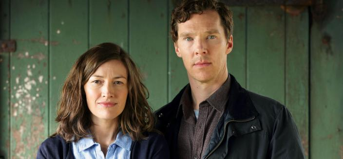 "Benedict Cumberbatch and Kelly McDonald in ""The Child in Time""  (Photo: (Photo:  Courtesy of Pinewood Television, SunnyMarch TV and MASTERPIECE for BBC One and MASTERPIECE)"