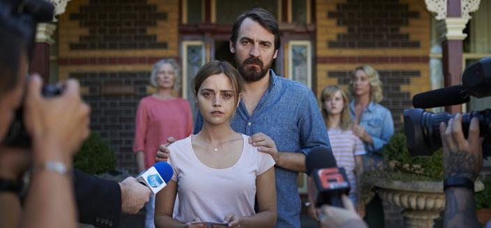 "Jenna Coleman and Ewan Leslie in ""The Cry"" (Photo: BBC/Sundance)"
