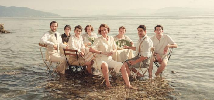 "The cast of ""The Durrells in Corfu"" (Photo: ITV)"