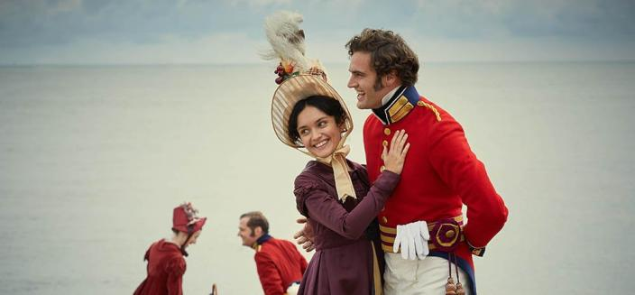 "The first image of the cast from the all-new ""Vanity Fair"" (Photo: ITV/ITV Press)"