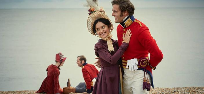 "Olivia Cooke in the all-new ITV/Amazon adaptation of ""Vanity Fair"" (Photo: ITV/ITV Press)"