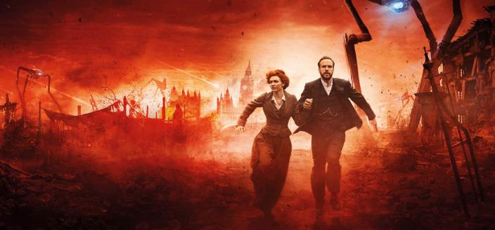 """Rafe Spall and Eleanor Tomlinson in """"Th War of the Worlds"""" (Photo: BBC/Mammoth Screen)"""