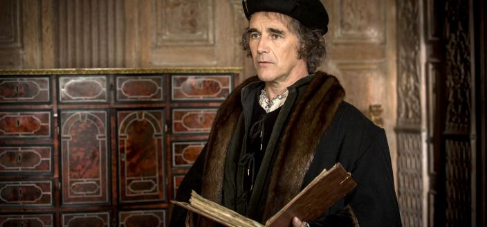 "Mark Rylance as Thomas Cromwell in ""Wolf Hall"" ​(Photo: Courtesy of Ed Miller/Playground & Company Pictures for MASTERPIECE/BBC)"