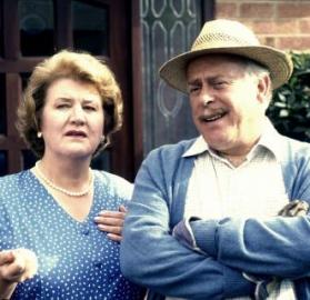 """A production still from """"Keeping Up Appearances"""" Season 1 (Photo: BBC)"""