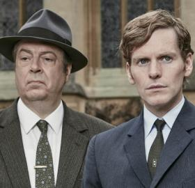 "Shaun Evans and Roger Allam looking all kinds of dapper in ""Endeavour"" Season 3 Photo: ITV"