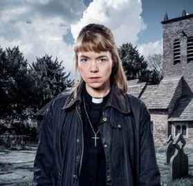 Anna Maxwell Martin as Midwinter of the Spirit's Rev. Merrily Watkins  (Image courtesy of Ben Blackall/ITV)
