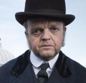 "Toby Jones as Anton Verloc in ""The Secret Agent"". (Photo: Courtesy of BBC Television)"