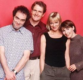 "The ""Cold Feet"" cast. (Photo: Granada TV/ITV)"
