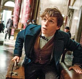 Eddie Redmayne as Newt Scamander. (Photo: Warner Bros.)
