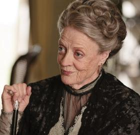 """Maggie Smith as the Dowager Countess of Grantham in """"Downton Abbey"""". (Photo: Courtesy of ©Carnival Film & Television Limited 2011 for MASTERPIECE"""