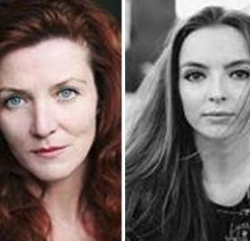 "Michelle Fairley and Jodie Comer who will be starring in ""The White Princess"". Photo: Starz"