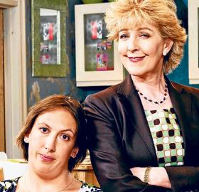 Miranda and her mother Penny (Photo: BBC)