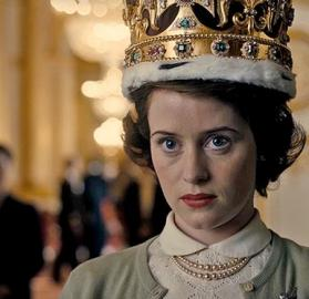 "Claire Foy as Elizabeth II in ""The Crown"". (Photo: Netflix)"