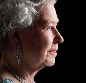 "Queen Elizabeth herself in the documentary series ""In Their Own Words"". (Photo: Lichfield)"