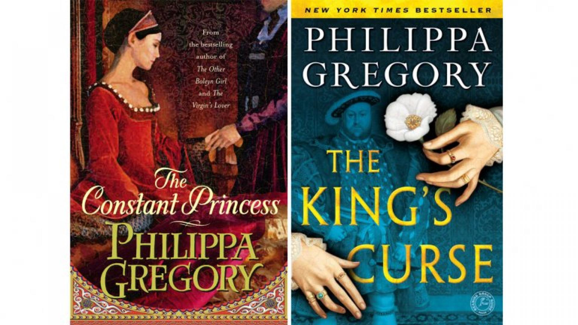Philip Gregory novels: a selection of sites