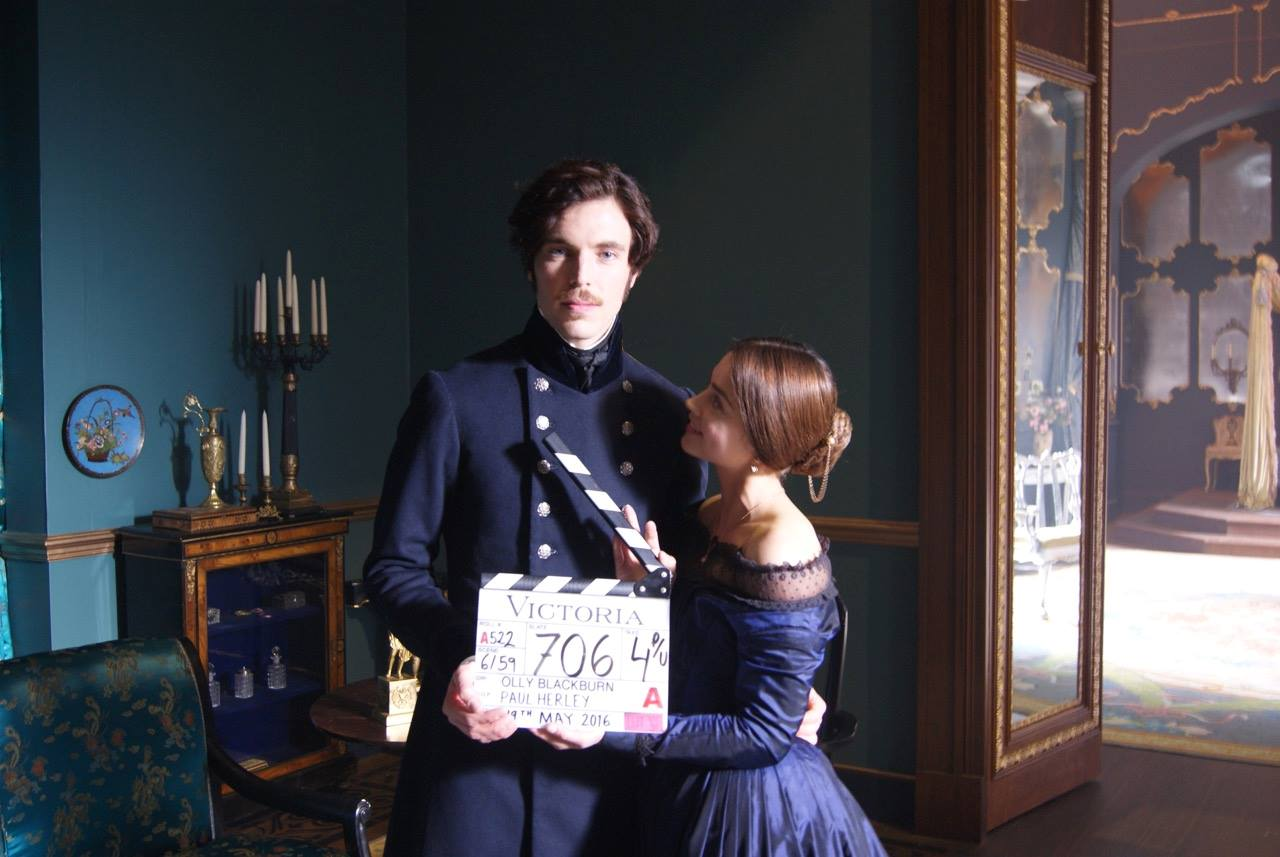 Image result for filming victoria series itv
