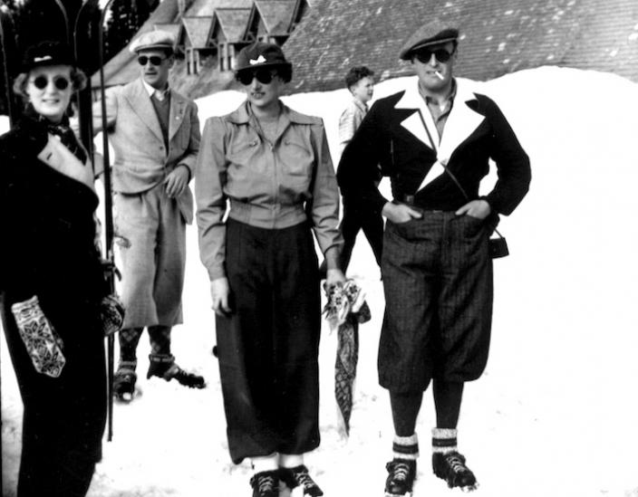Crown Prince Olav and Crown Princess Martha of Norway, Paradise, Mount Rainier National Park, May 24, 1939 Courtesy Tacoma Public Library, Richards Studio Collection (D8365-4)