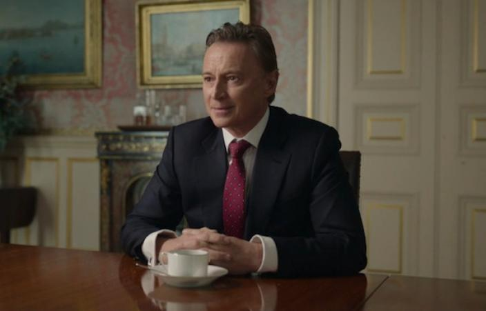 Prime Minister Robert Sutherland (Robert Carlyle). Credit: Courtesy of © Sky UK Limited.