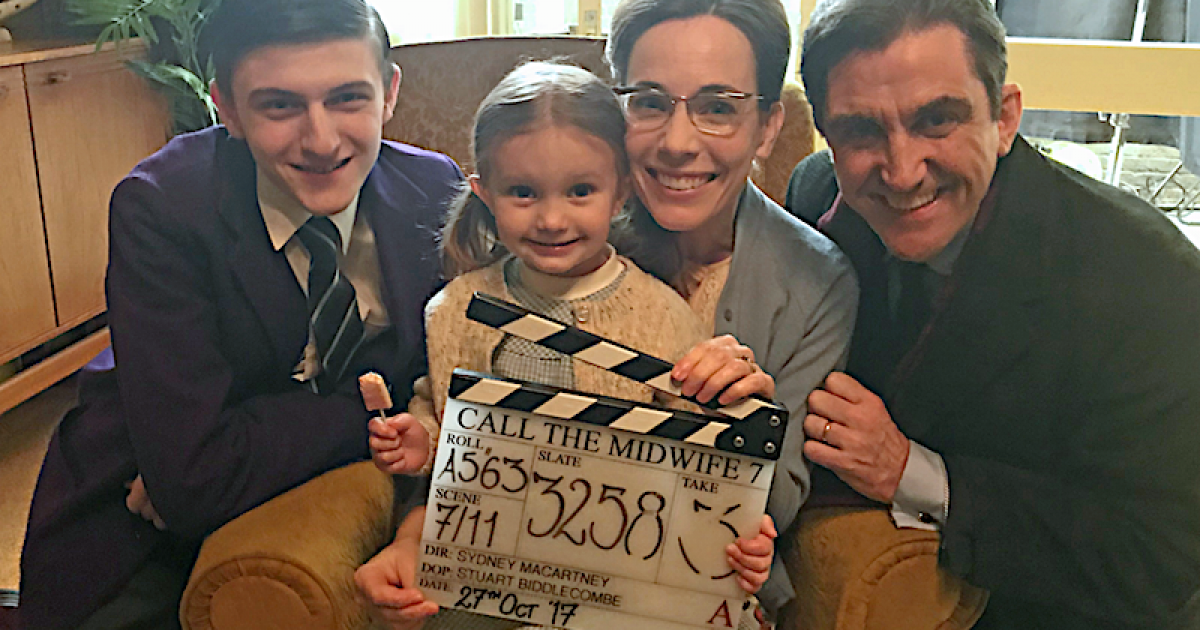 Call The Midwife Wraps Filming On Season 7 Telly Visions